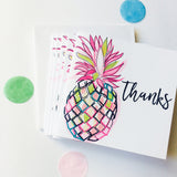 Katie Phythian Mini Pineapple Thank You Notecard Set
