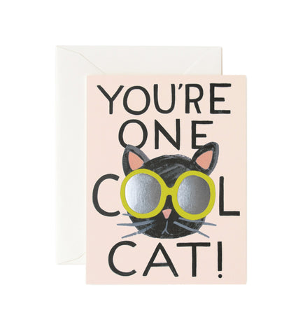 Rifle Paper Co. You're One Cool Cat Card