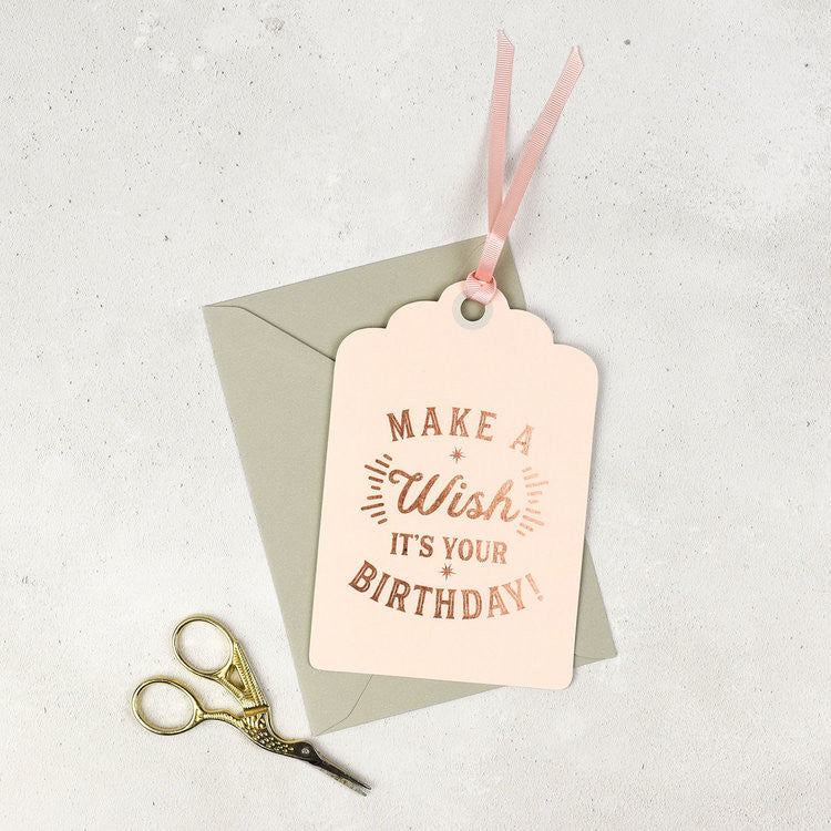 Studio Seed Make A Wish It's Your Birthday Card | Lilly & Thorn