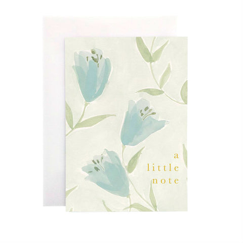 Wanderlust Paper Co Lily A Little Note Card