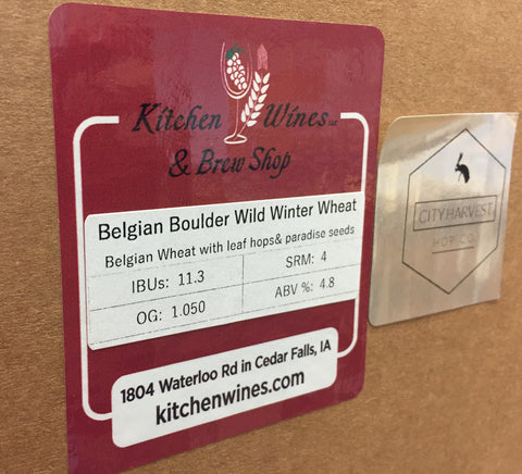 Belgian Boulder Wild Winter Wheat