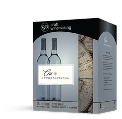 California White Zinfandel Style - Cru International recipe kit w/ 12L of juice
