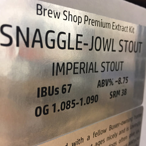 Snaggle-Jowl Imperial Stout