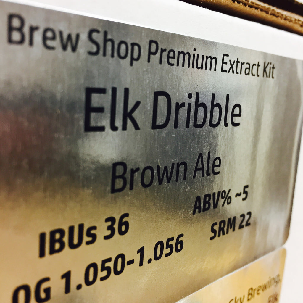 Elk Dribble Brown Ale
