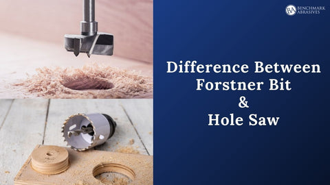 Difference between Forstner bit and hole saw