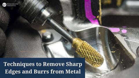 Techniques to Remove Sharp Edges and Burrs from Metal