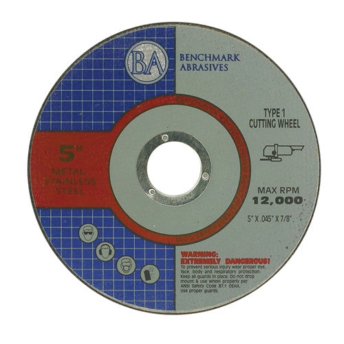 "5"" x .045 x 7/8"" T1 Premium Thin Cut-Off Wheel - 2000 pieces"