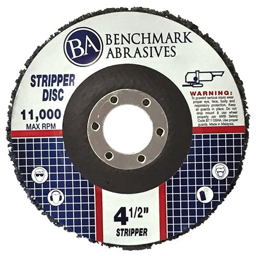 "4 1/2"" x 7/8"" Paint & Rust Stripping Cup Wheel - 10 pack"