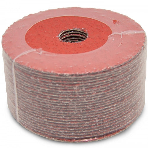 "4-1/2"" x 7/8"" Ceramic Resin Fiber Discs - 25 Pack"