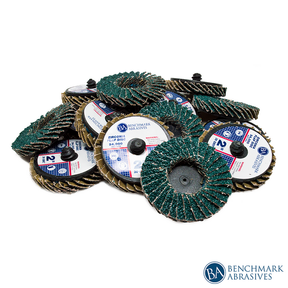 "2"" Mini Flap Disc Zirconia Quick Change Discs"