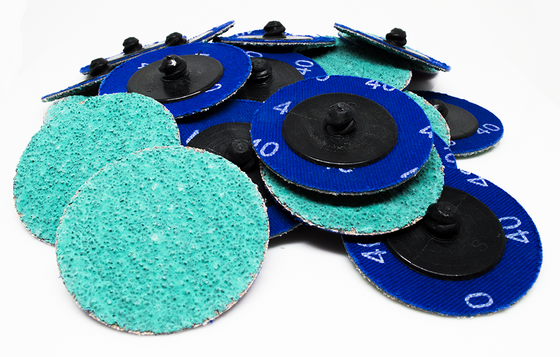 "2"" Green Zirconia Quick Change Discs - 25 Pack"