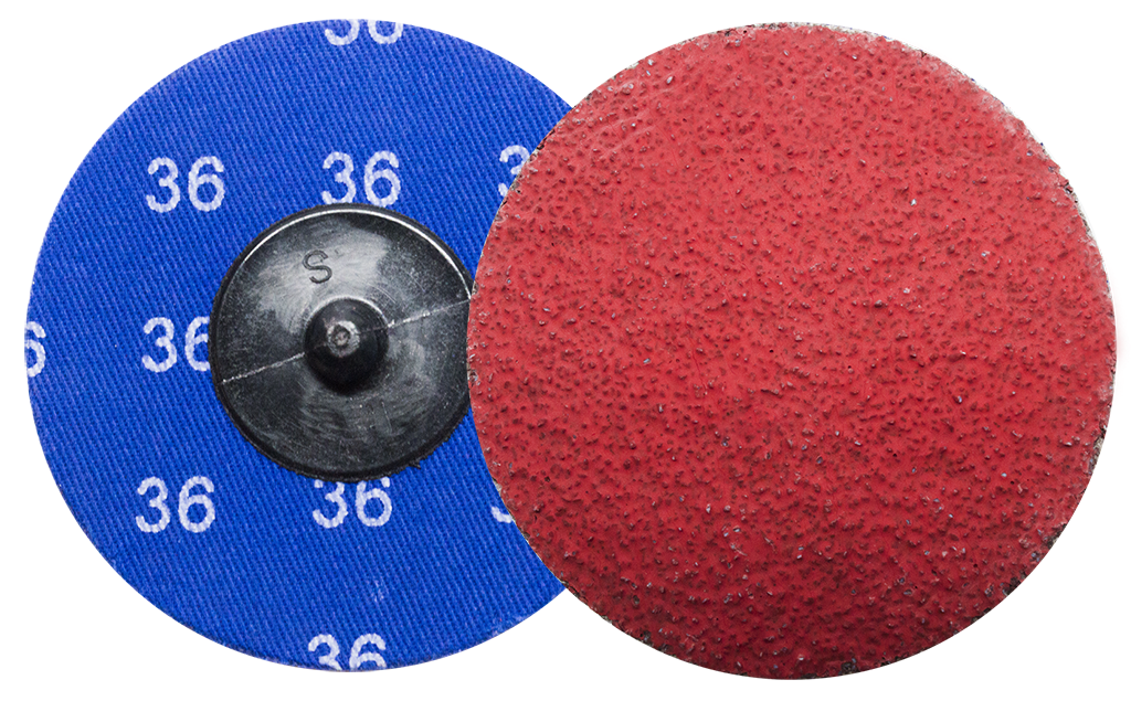 3 Quot Ceramic Quick Change Discs 25 Pack Benchmark Abrasives