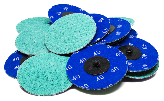 "3"" Green Zirconia Quick Change Discs - 25 Pack"