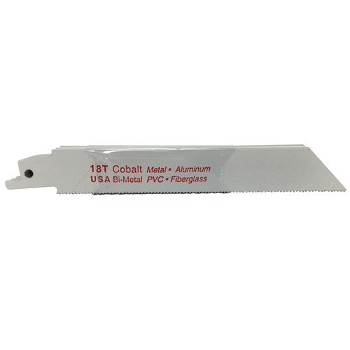 "6"" x .035"" x 18T Bi-Metal Recip Blade - 10 Pack"