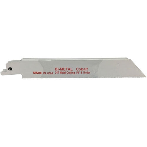 "6"" x .035"" x 24T Bi-Metal Recip Blade - 10 Pack"