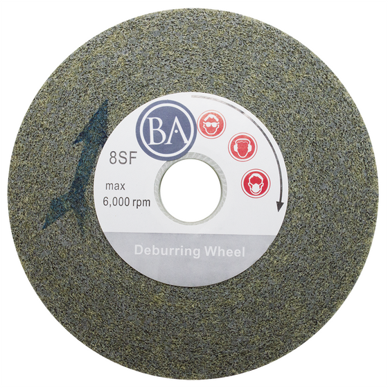 "6"" x 1"" x 1"" Convolute Deburring Wheel 8SF"