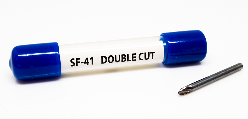 SF-41 Tree Shape - Radius Premium Tungsten Carbide Burr