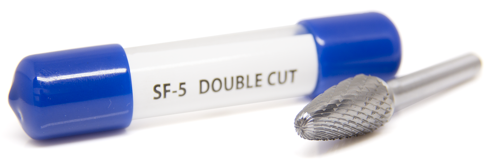 SF-5 Tree Shape - Radius Premium Tungsten Carbide Burr