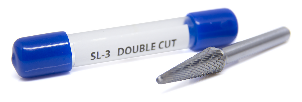 SL-3 Taper Shape - Radius Premium Tungsten Carbide Burr