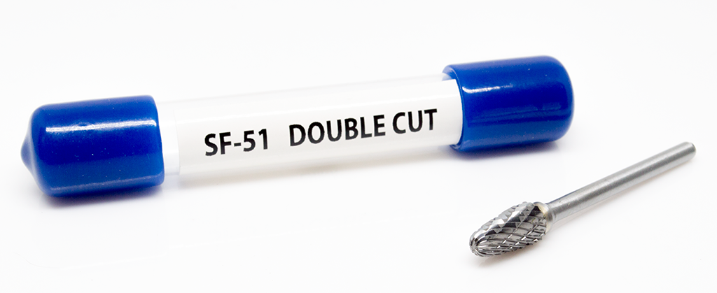 SF-51 Double Cut Carbide Burr