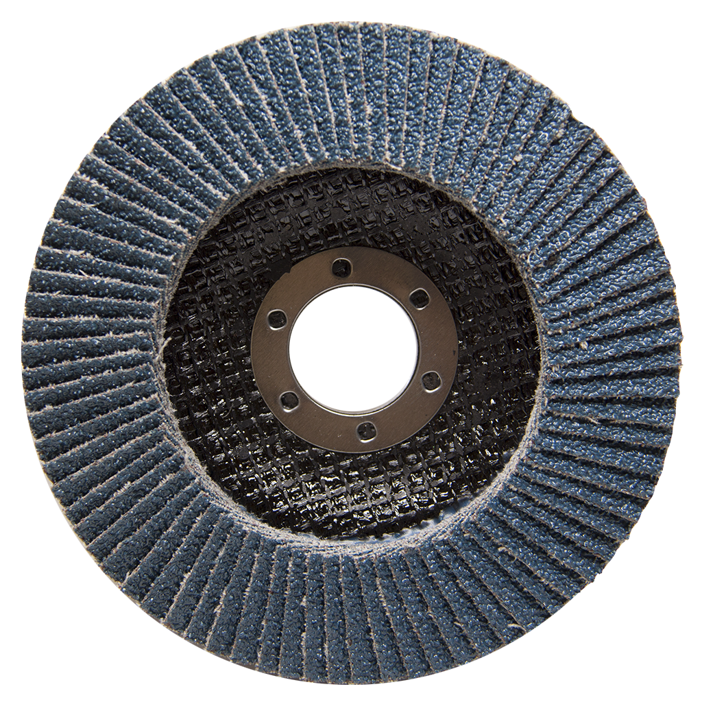 "4-1/2"" x 7/8"" T29 Zirconia High Density Flap Disc - 10 pack"
