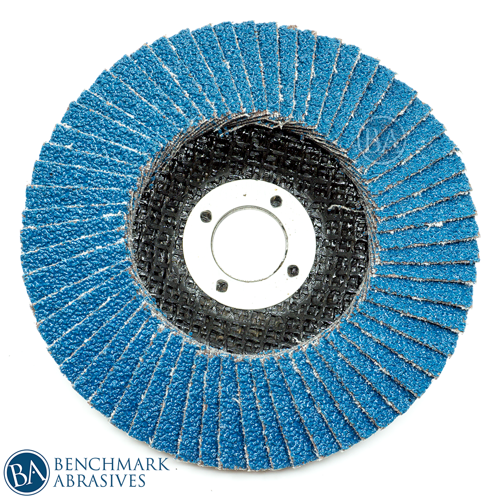"4"" x 5/8"" Zirconia Flap Disc"