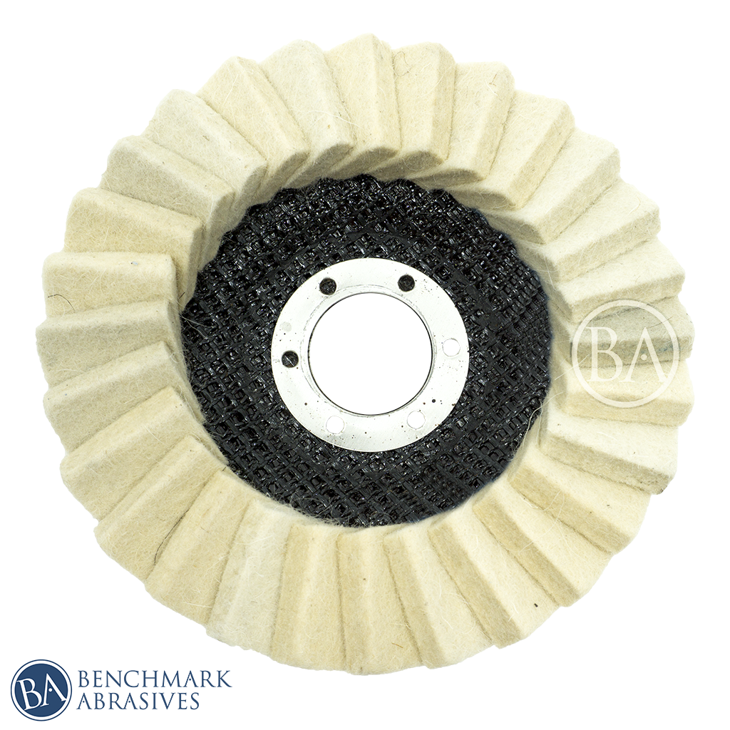 Felt Polishing Flap Disc For Grinding