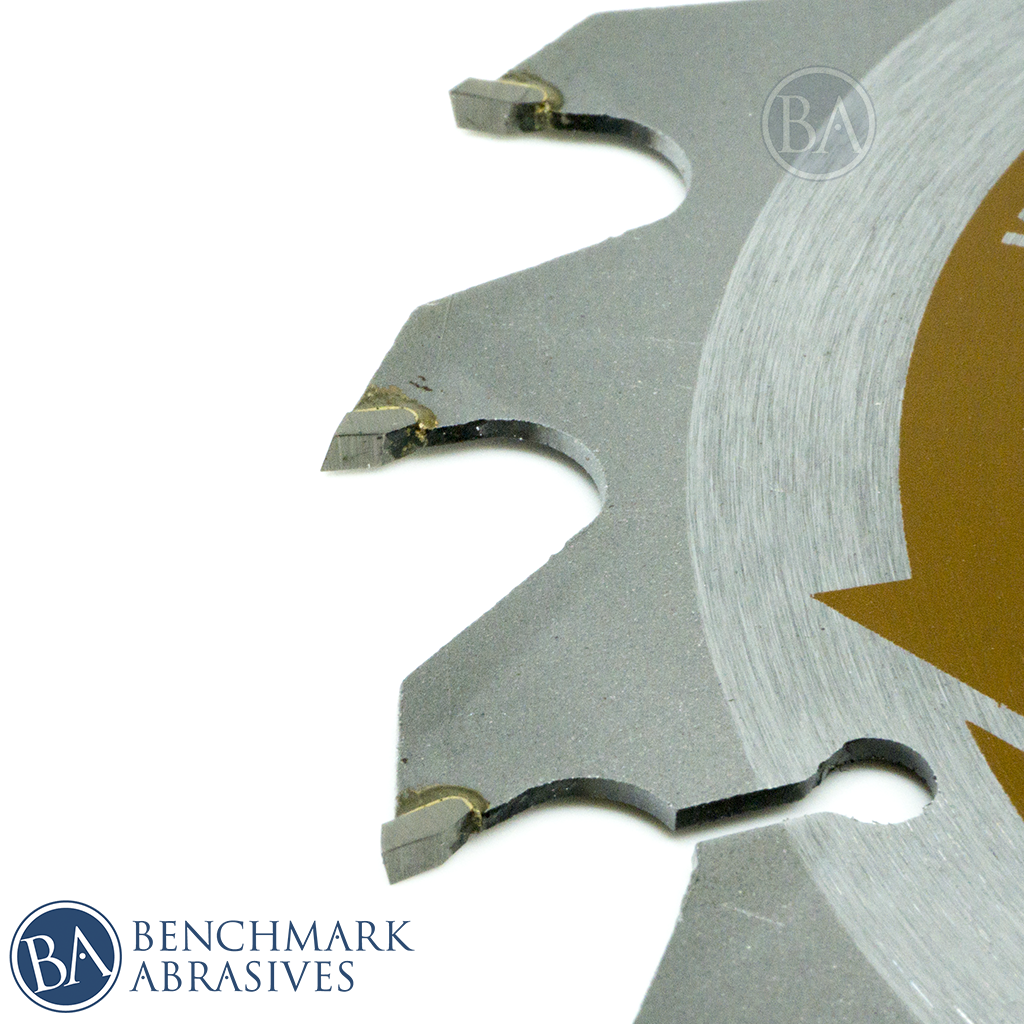 "5-1/2"" 18 Tooth TCT Saw Blade for Fast Cutting & Trimming"