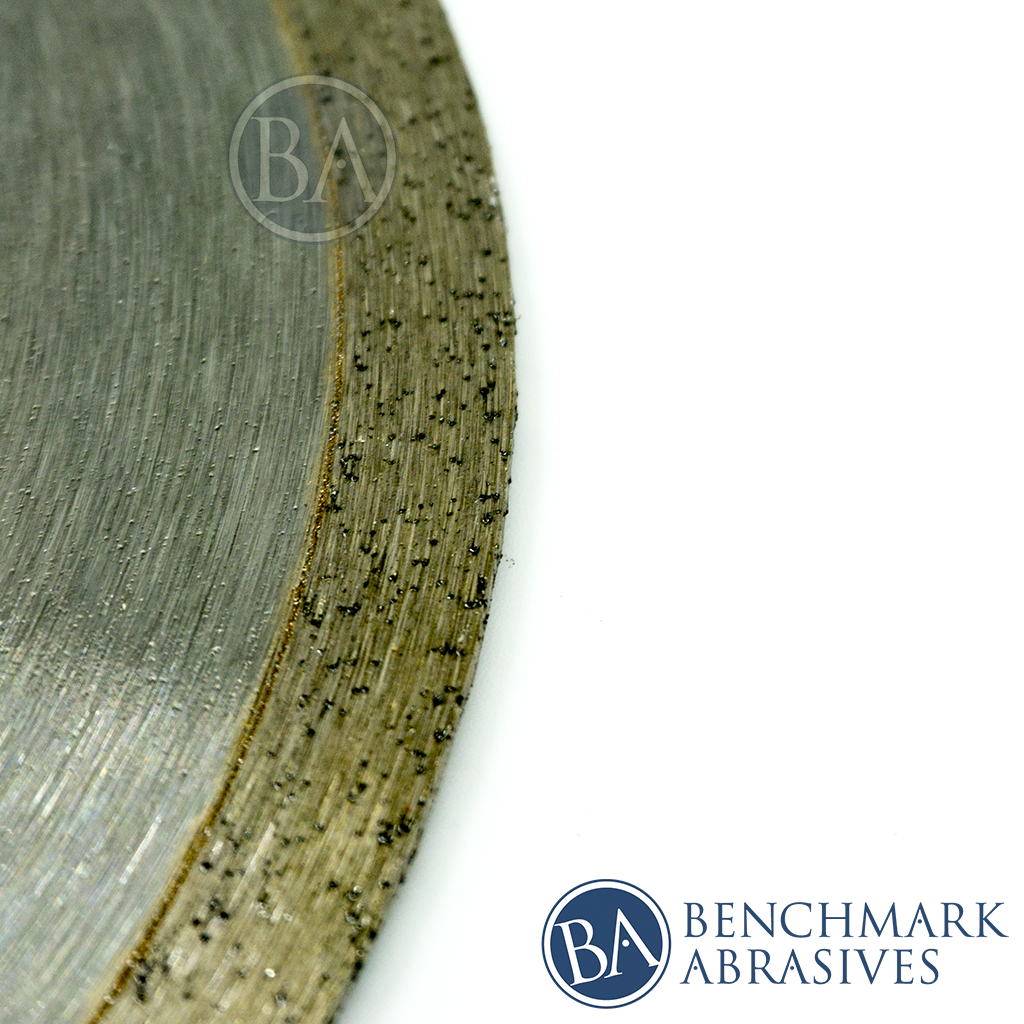 Continuous Rim Diamond Blade For Cutting