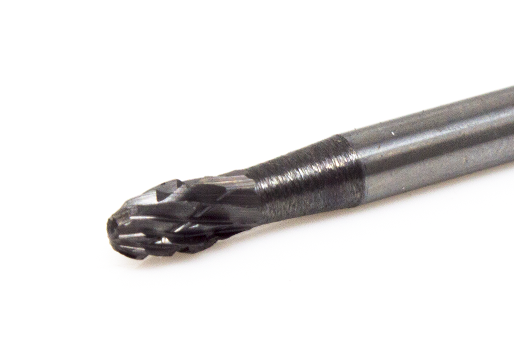 SE-41 Oval/Egg Shape Premium Tungsten Carbide Burr