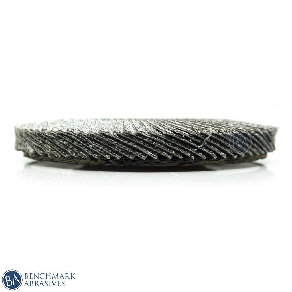 Flap Disc for Aluminum with Stearate Coating