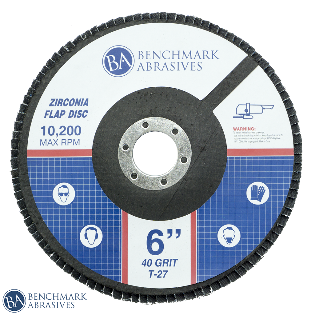 High Density Zirconia Flap Disc 10,200 rpm
