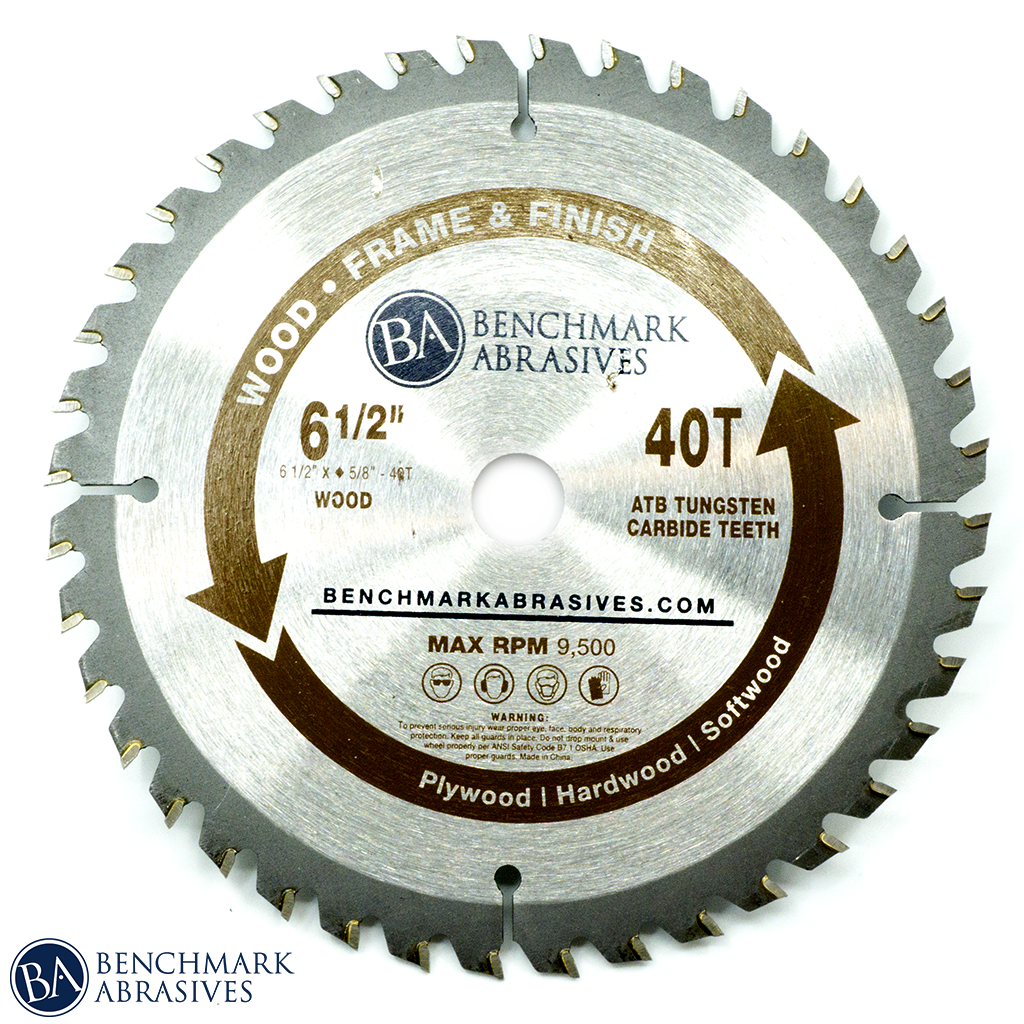 6-1/2 inch TCT Saw Blade for Finishing & Framing