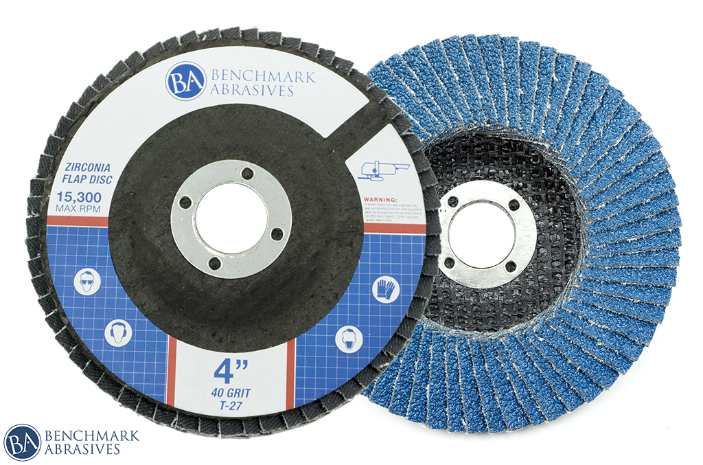 "4"" x 5/8"" T27 Zirconia Flap Disc"