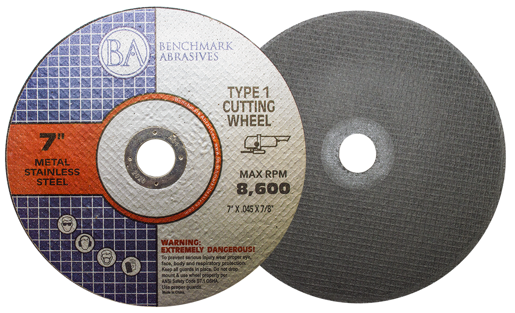 "7"" x .045"" x 7/8"" T1 Premium Thin Cut-off Wheel - 25 pack"