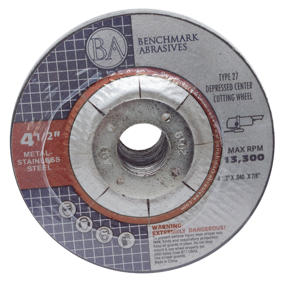 """25 Pack 4-1//2/""""x.040/""""x7//8/"""" Cut-off Wheel Metal /& Stainless Steel Cutting Discs"""