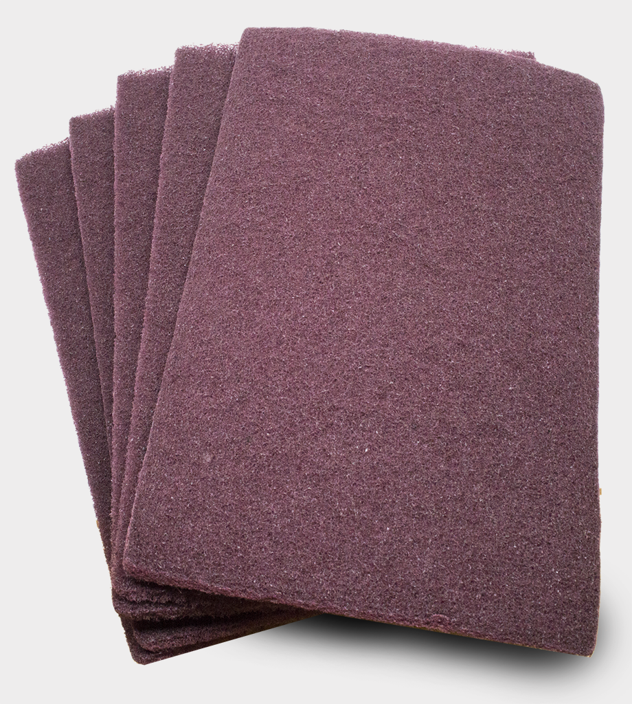 "Nonwoven 6"" x 9"" Scuff, Clean & Finish Hand Pads"