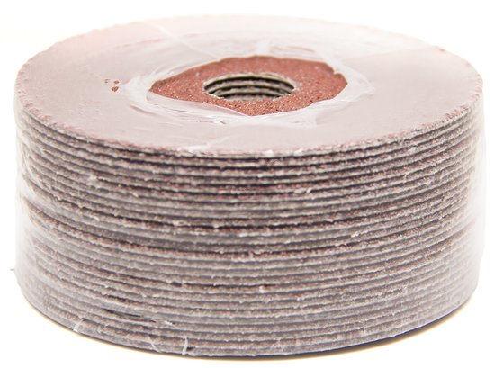 "4-1/2"" x 7/8"" Aluminum Oxide Resin Fiber Disc - 25 pack"