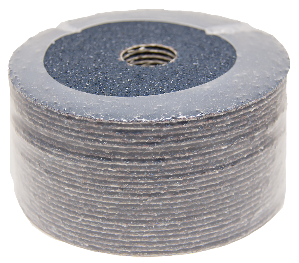 "Fibre Sanding Disc 41//2/""  120 grit pack of 25"