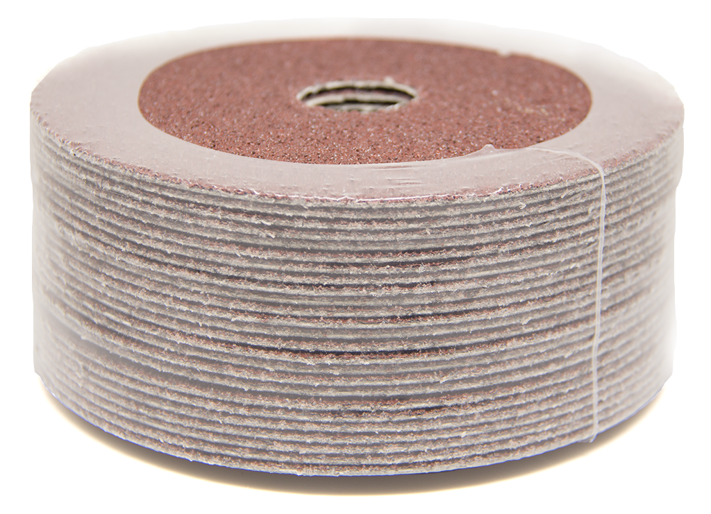center hole 80 grain sanding discs 5 packages 4x 5//8 aluminum oxide resin fiber discs