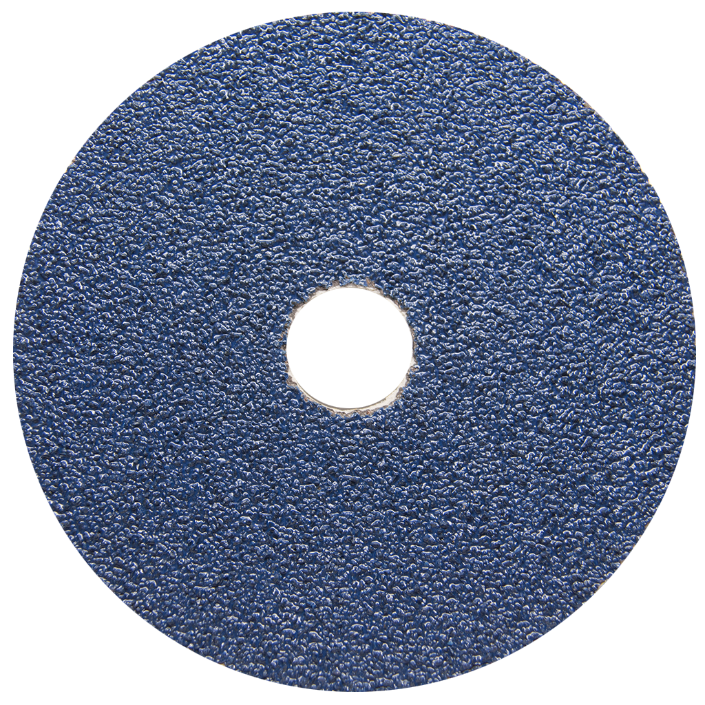 "5"" x 7/8"" Zirconia Resin Fiber Disc - 25 Pack"