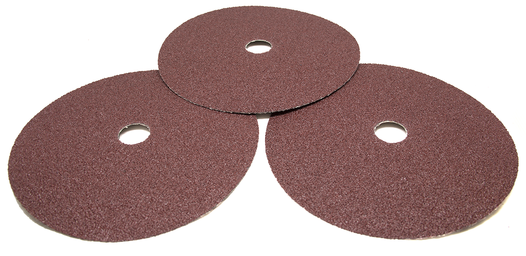 "7"" x 7/8"" Aluminum Oxide Resin Fiber Disc - 25 pack"