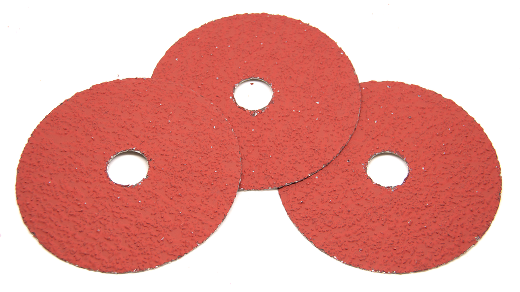 5 Quot X 7 8 Quot Ceramic Resin Fiber Discs 25 Pack Benchmark