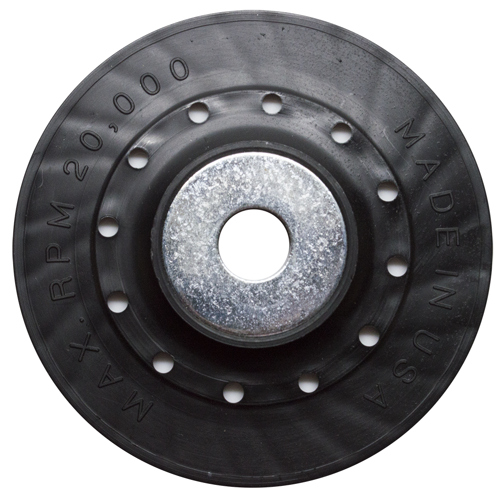 "4-1/2"" x 5/8""-11 Resin Fiber Disc Backing Pad"