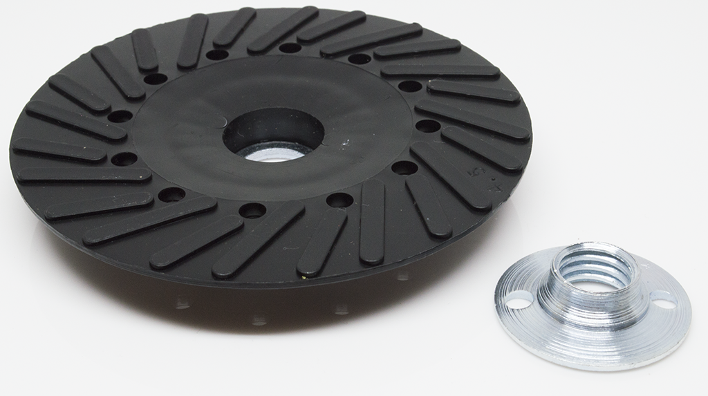 """7"""" Backing Pad for Resin Fiber Discs For Use W// Grinders"""
