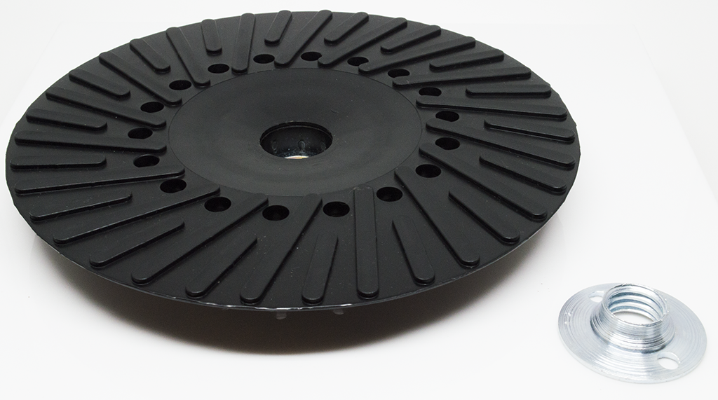 "7"" x 5/8""-11 Resin Fiber Disc Backing Pad"