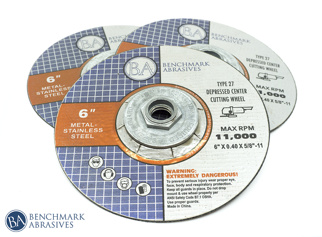 "6"" Cutting Wheel T27 10 Pack"