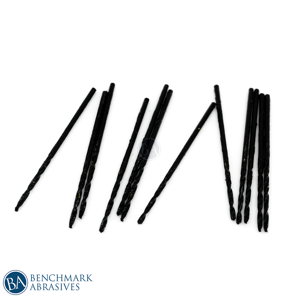 #54 HSS Black Oxide Jobber Length Drill Bit - 12 Pack