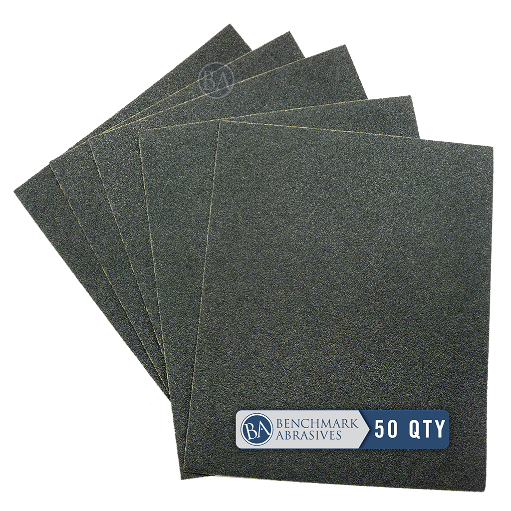 Silicon Carbide Wet-Dry Sandpaper Sheets