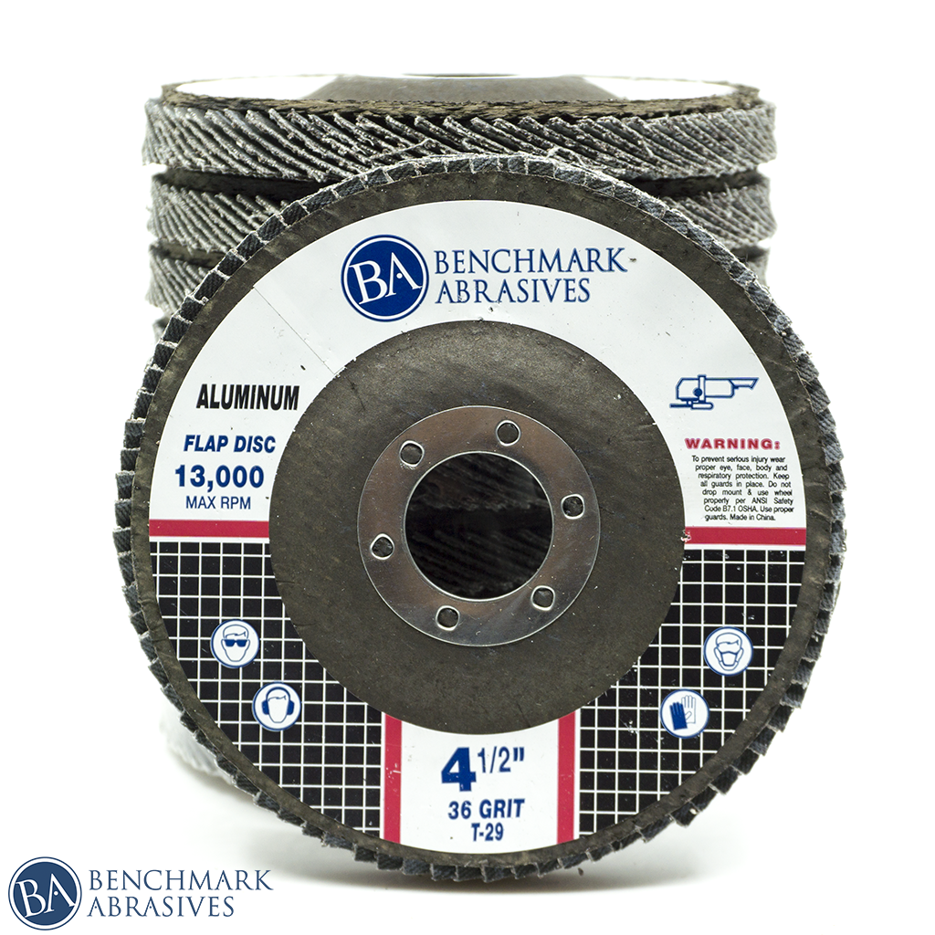Stearate Coating Flap Disc